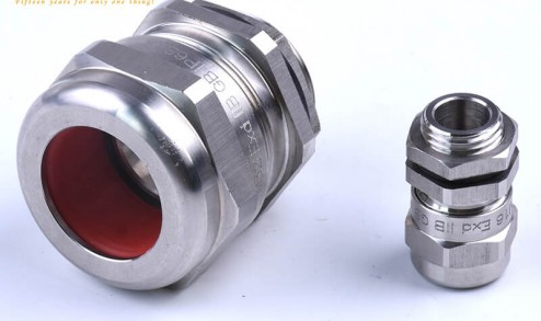 Cable gland guide