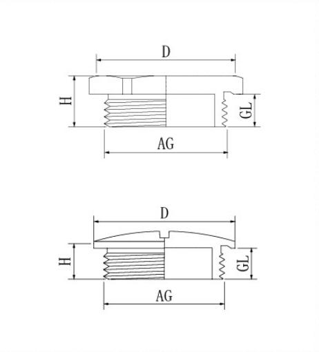 Metal Plug Cap