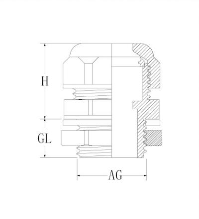 Nylon Flexible Pipe Fitting-HX