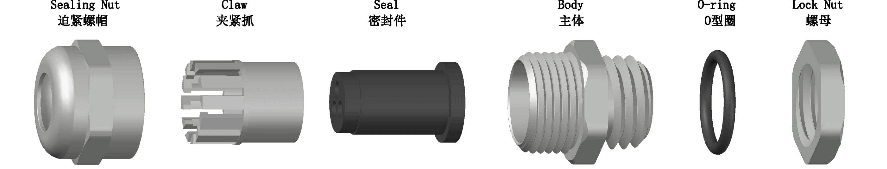 Brass Cable Gland-Multiple Entry Type